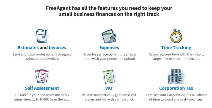 FreeAgent Features