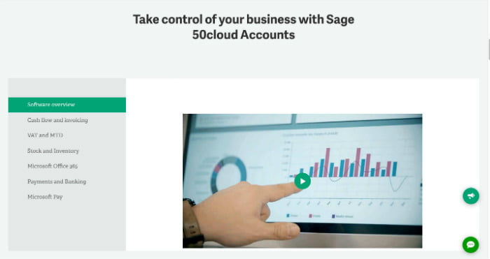 Sage 50Cloud features