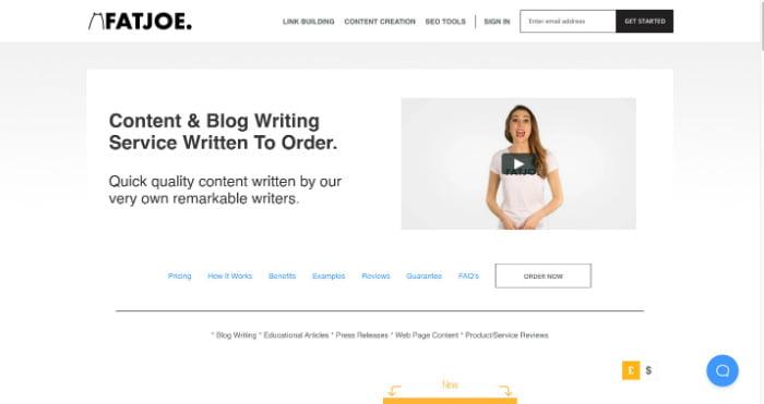 FATJOE Content Writing