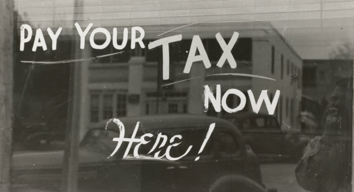 Self-assessment income tax forms are your responsibility.