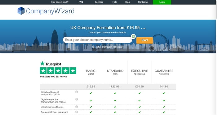 Company Wizard Review
