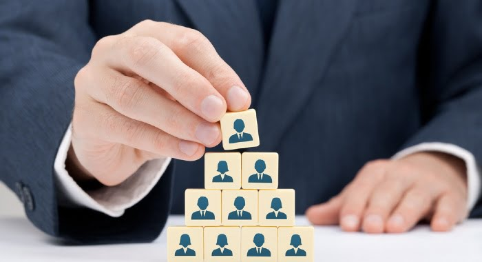 It is also important to describe how your company is organised, more specifically hierarchical bonds.