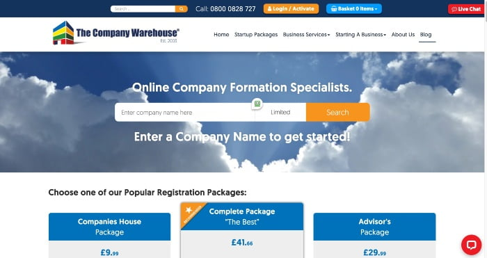 The Company Warehouse Review