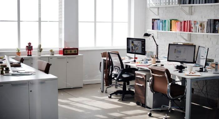 Office equipment such as computers, printers, or even chairs can mean a tax relief!