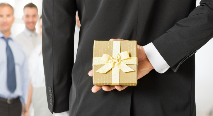 Staff gifts, as long as they are a true gift, can be tax free.
