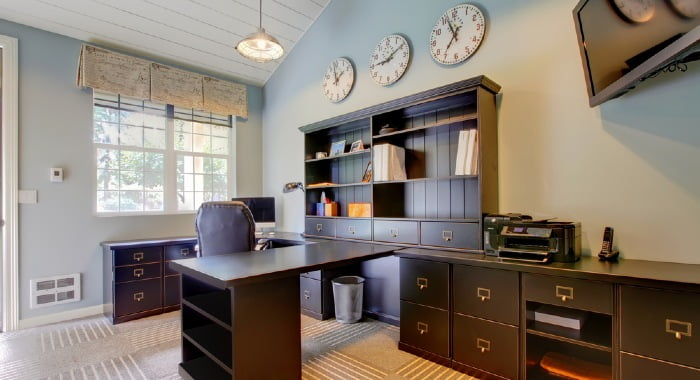 Registering your office address in your home has a lot of disadvantages. However, it is the cheapest and quickest option. Think well before making a decision.
