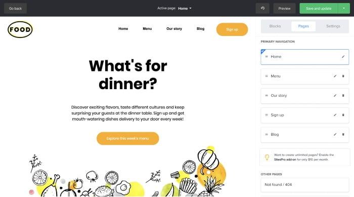 MailerLite Website Builder Platform