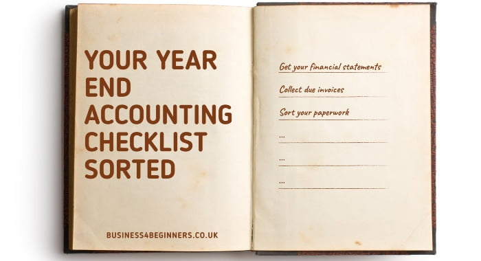 Your Year End Accounting Checklist Sorted