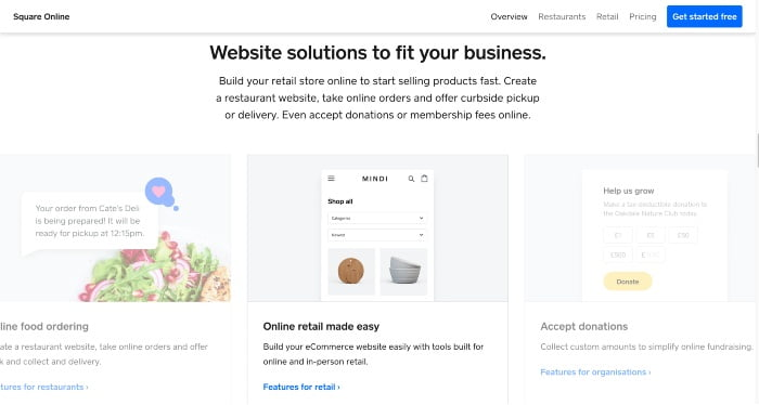 Square Online Stores