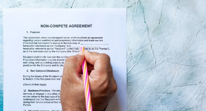 When you signed your contract, you might have agreed upon a few non compete clauses. Make sure you read them before starting your new business while working.