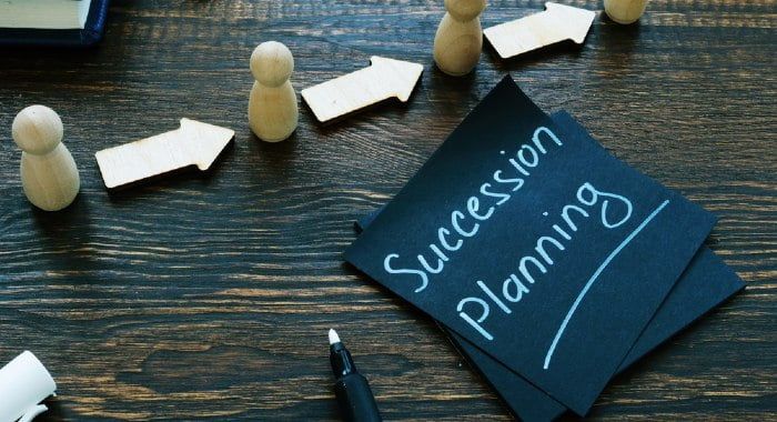 It is always good to have a list of potential successors for your business.