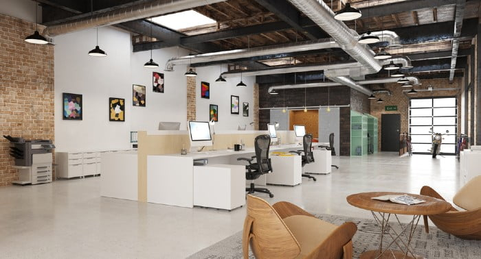 Coworking spaces are an ideal way to share costs but also to network with people who think the same way you do in terms of their business!